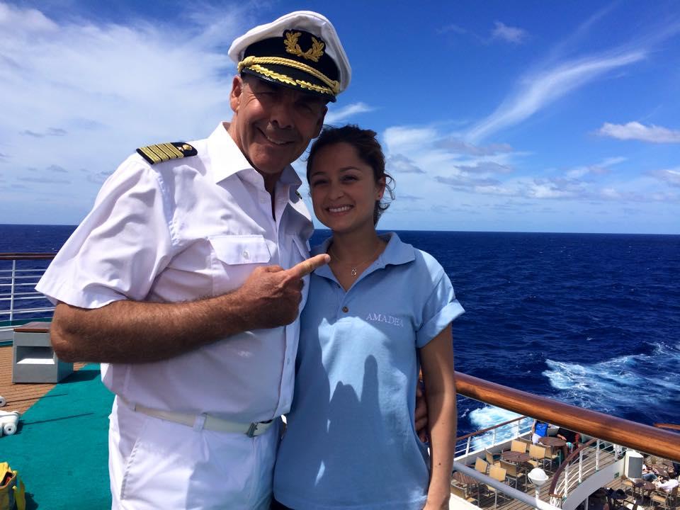 Auf dem Traumschiff mit Sascha Hehn