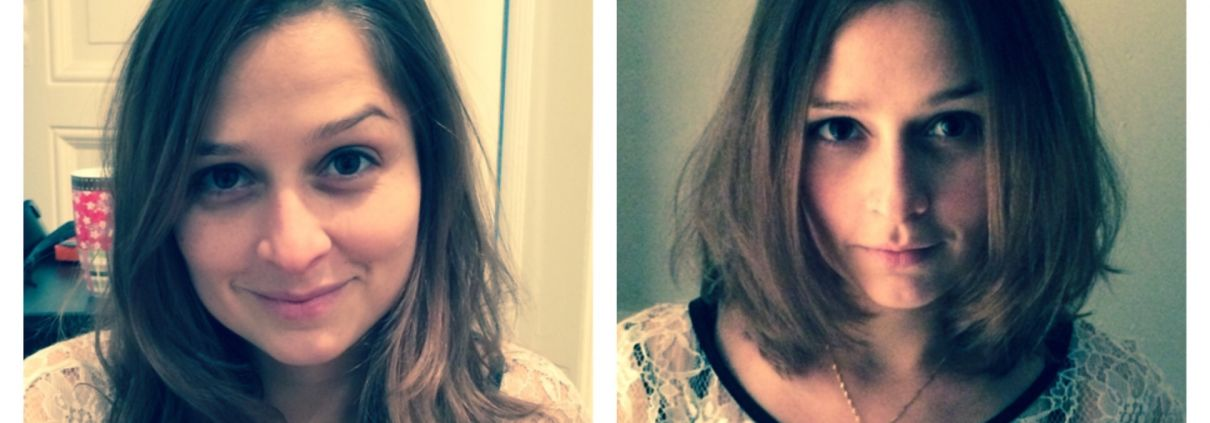 Sie hat die Haare schön